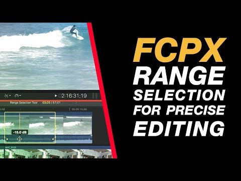 Final Cut Pro X: Using the Range Selection Tool for Selective Audio, Speed Adjustments and more