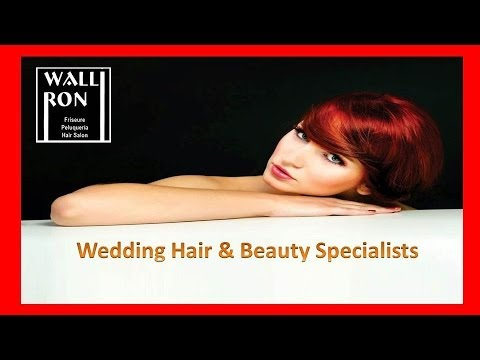 Wedding Hair Salon, Nerja   952 52 39 66   WalliRon are Wedding Hair & Beauty Specialists