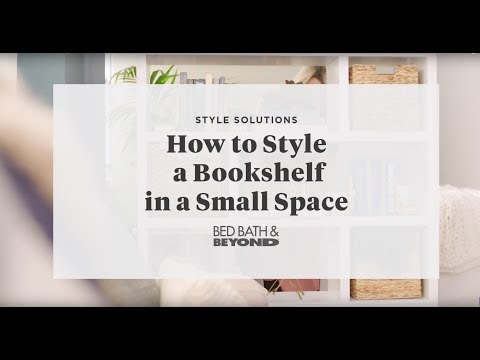 How to Style a Bookshelf in a Small Space