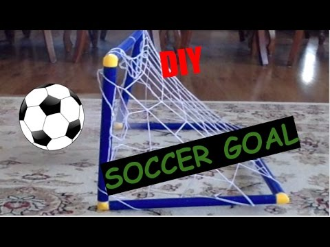 How To Make DIY Soccer Goal WITH PVC