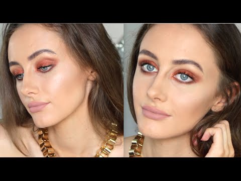 Fire Orange Eyes | Makeup Geek Flamethrower