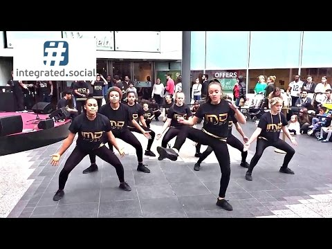 IMD Legion dance crew dancing Westfield London - Britain's Got Talent Street Dance Music