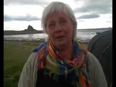 Wartime escape mission retraced on Holy Island