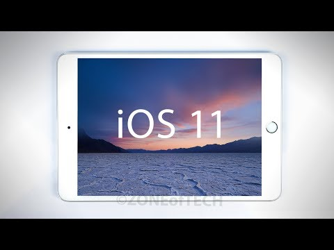 iOS 11 (iPad) - FULL Review!