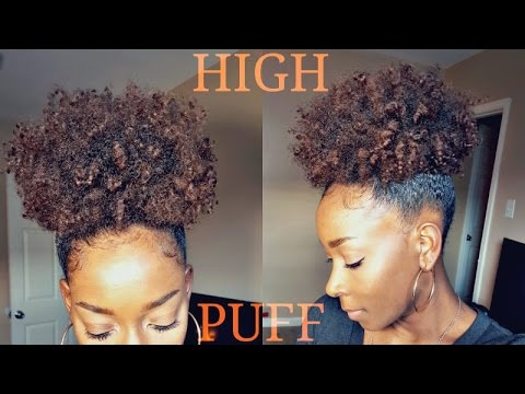 ***PAINLESS HIGH PUFF*** ON NATURAL HAIR | Michel Dione