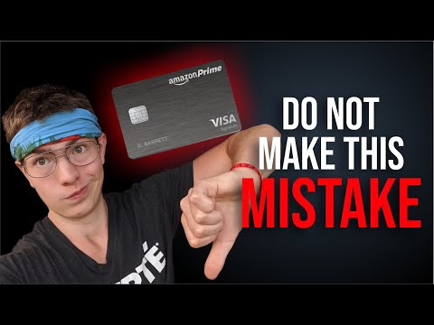 Amazon Prime Credit Card 💳 Why I Got REJECTED