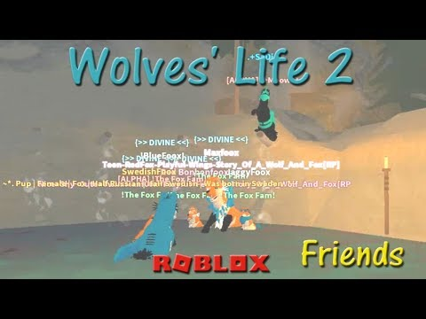 Roblox - Wolves' Life 2 - Friends XI - HD