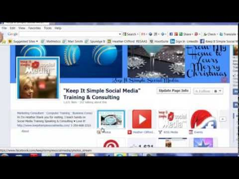 How Do You Add  Your Website to a Tab on Facebook
