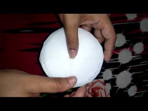 How to make a Tissue Paper Flower very easily....   Hand craft
