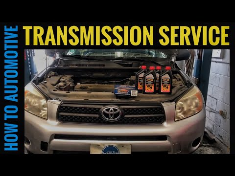 How to Change the Transmission Fluid and Filter on a 2005-2012 Toyota RAV4