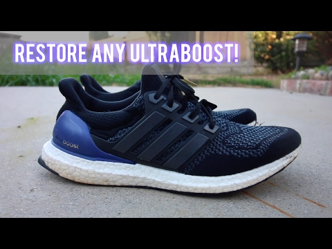 BEST WAY TO CLEAN ANY ULTRABOOST [Remove Scuff Marks + Whiten Boost] (Using Only Household Items)
