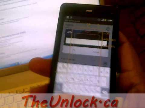 Andriod Phones APN (Internet Setting) for Telus Canada