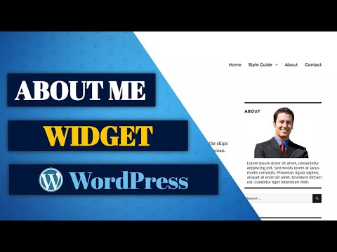 WordPress Widgets: How to Add an About Me Widget in Your Sidebar