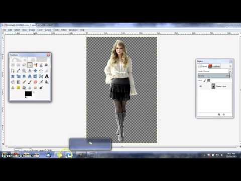 How To Cut Out A Pic On Gimp - Using Path Tool
