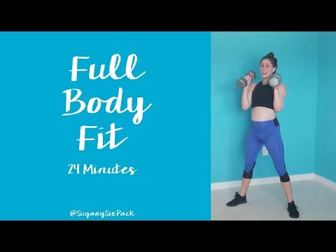 Full Body Fit Workout | Total Body Exercise Dumbbell Workouts