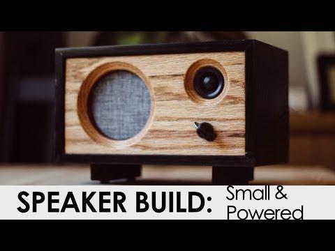 DIY Powered Speaker Build