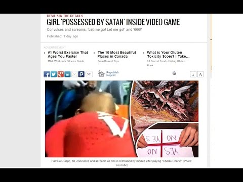 4 Teens Possessed, Hospitalized After Using Ouija Board/Apps