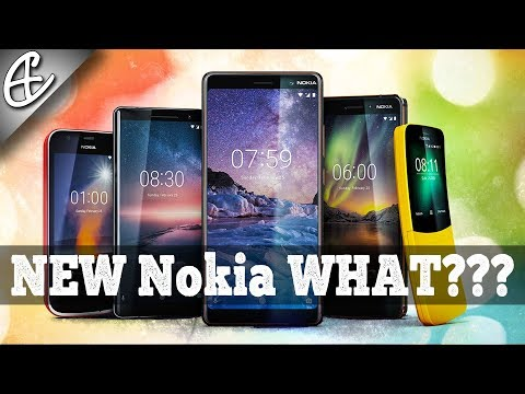 New Nokia WHAT??? (MWC 2018)