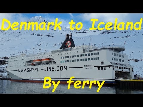 Denmark to Iceland ferry trip on MS Norrona
