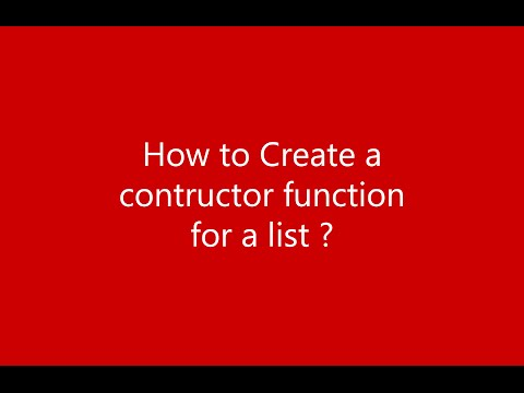 Creating Constructor for List - DataStructures in JavaScript Lists Part 1