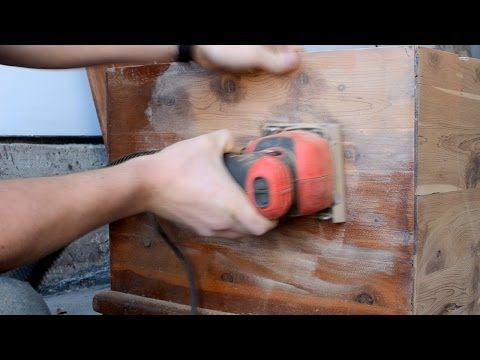 Sanding a Cedar Chest: Removing Old Finish
