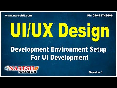 Development Environment Setup For UI Development | UI/UX Design Tutorials | Mr.Naveen