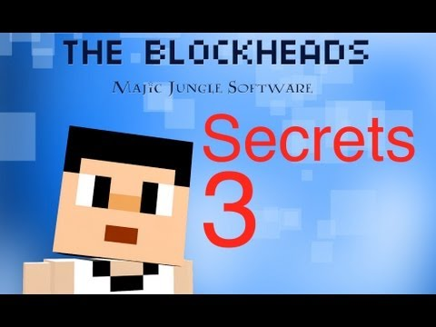 The Blockheads - Secrets 3 (Paints, Jacuzzi, and Water pipe)