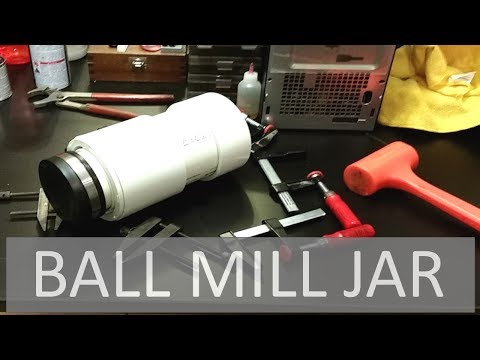 Making the Ultimate Ball Mill & Rotary Tumbler Jar! ELEMENTALMAKER