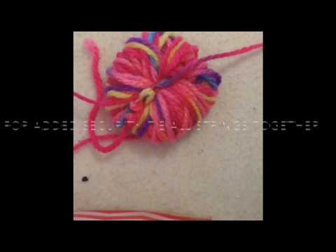 DIY- Pom Poms- The Crafty R