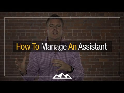 How To Manage An Assistant | Dan Martell