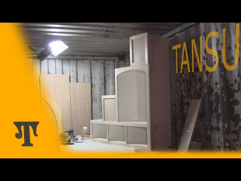 Building a Tansu Staircase