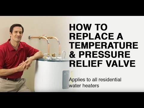 How to Replace a Water Heater T&P Valve