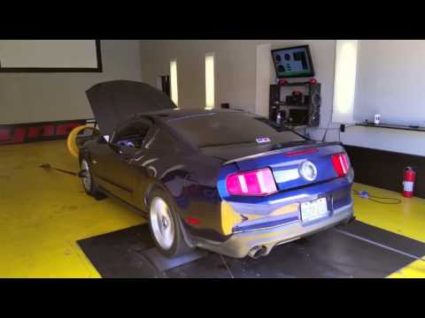 Christian Morillo's Coyote Mustang with NX Direct Port with 250hp jets-Dyno Session