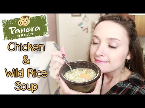 Copycat Panera Chicken and Wild Rice Soup Recipe
