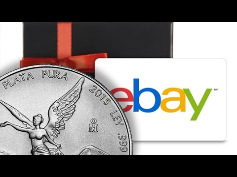 eBay Gift Card Warning To Silver & Gold Stackers