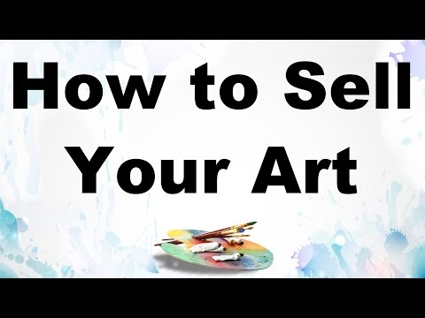 how to sell more paintings art