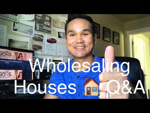 Sunday Q&A #16: Let Turn Your Annual Income Into Monthly Through Wholesaling Houses.