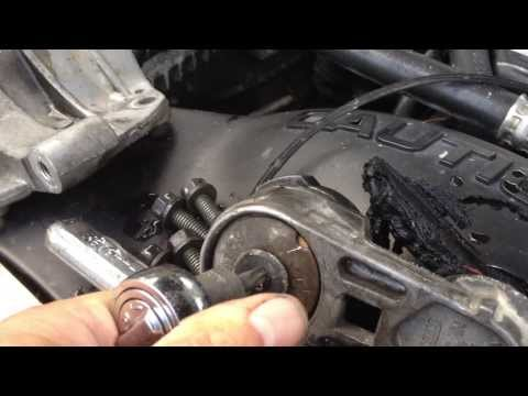 2001 Jeep Grand Cherokee 4.0 Belt Tensioner Replacement