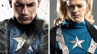 Women Re-Create Superhero Movie Posters