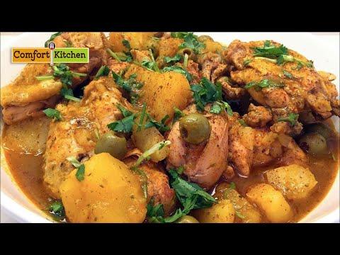 Pollo Guisado Puerto Rican Chicken Stew
