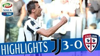 Juventus - Cagliari 3-0 - Highlights - Giornata 1 - Serie A TIM 2017/18