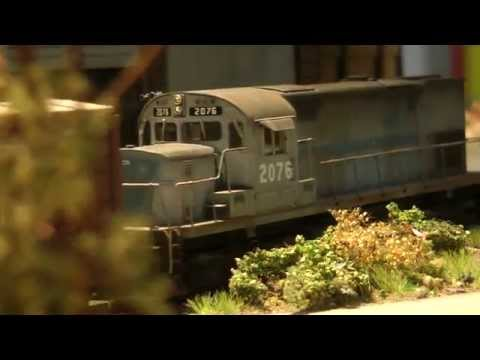Awesome City Edge Model Train Layout in HO Scale Made in Germany