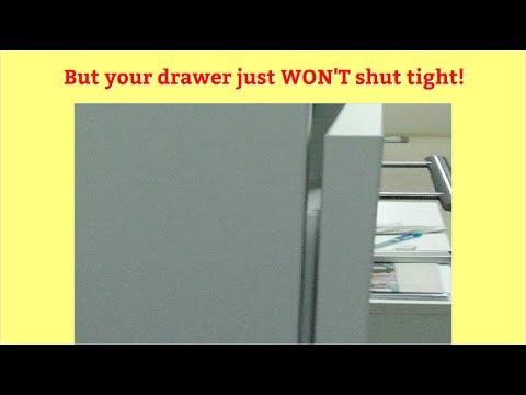 Ikea Besta Soft-Close Drawers Won't Shut Tight? This WittyCulusFix Makes It Ok!