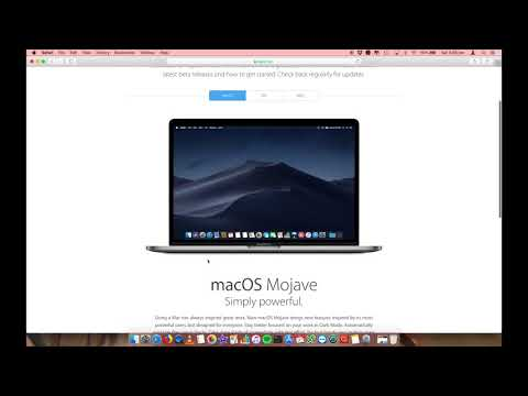How to download the latest macOS Mojave Beta