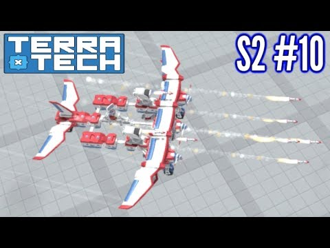 Terratech | Ep10 S2 | Venture Missile Plane!! | Terratech 0.7.4 Gameplay!