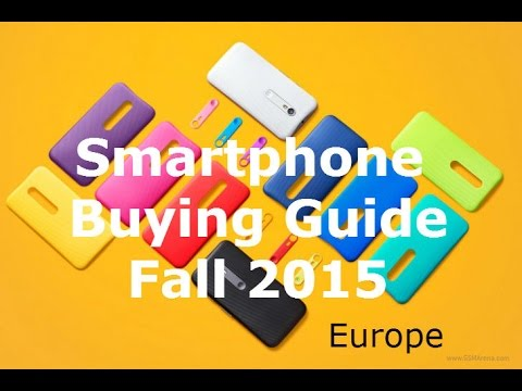 Best Smartphones under 400 Euros - Smartphone Buying Guide - Fall 2015