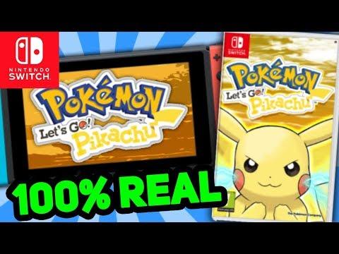 Pokémon Let's Go Pikachu & Let's Go Eevee 100% REAL - WEBSITES REGISTERED BY NINTENDO
