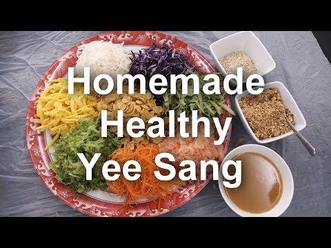 Yee Sang (Homemade Chinese New Year prosperity Toss Salad)