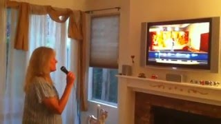 Cool Silly Intoxicated Mom Playing American Idol on Xbox 360