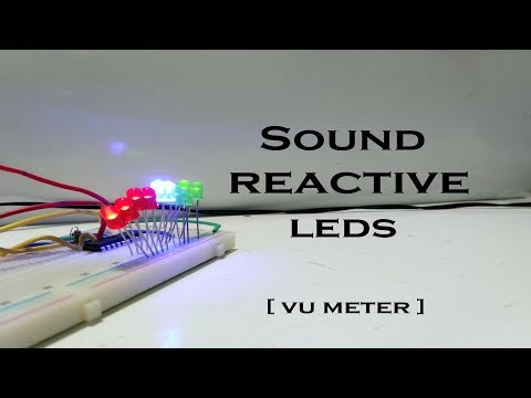 How to make VU Meter using LM3915